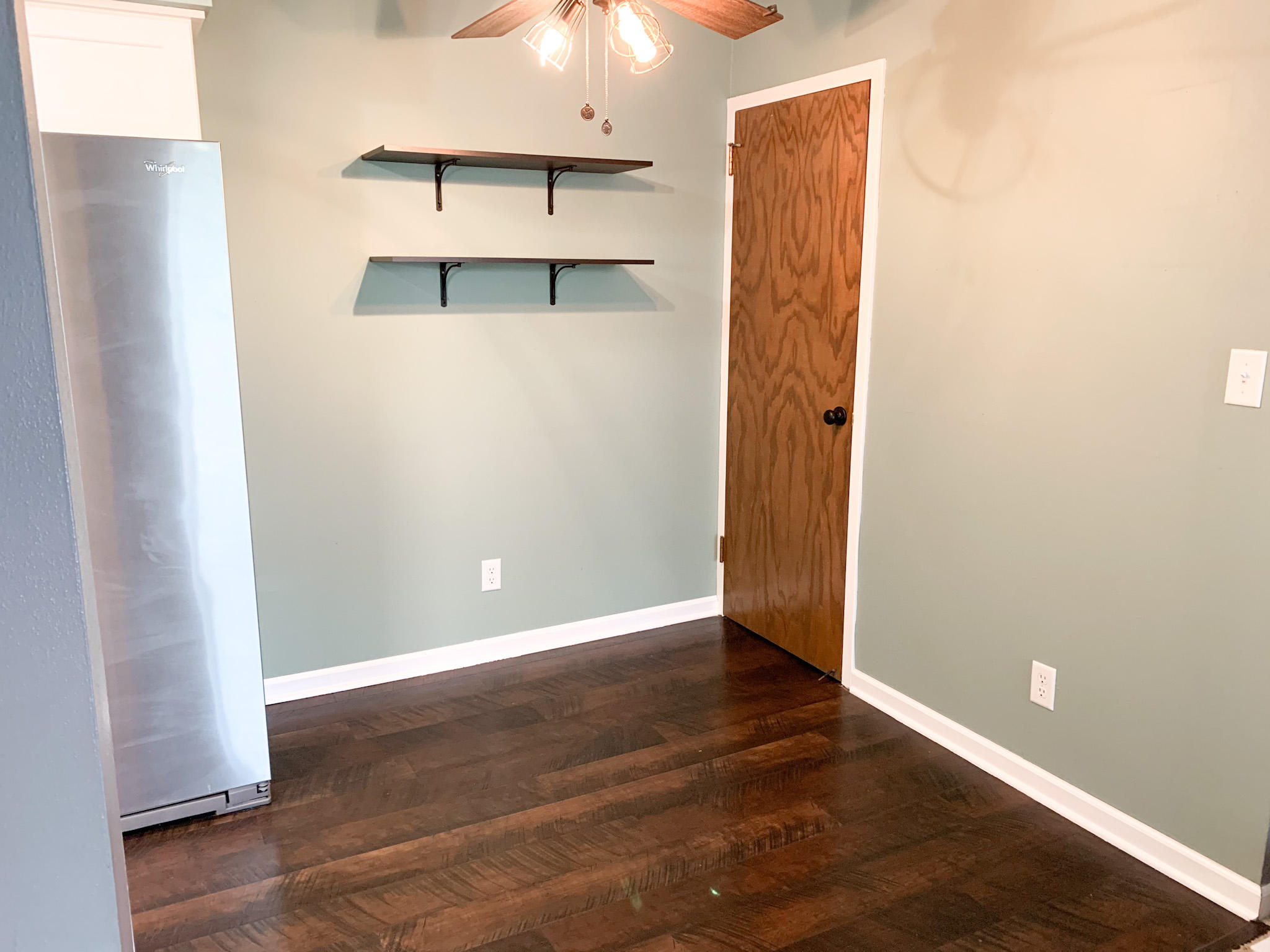 dining room and pantry