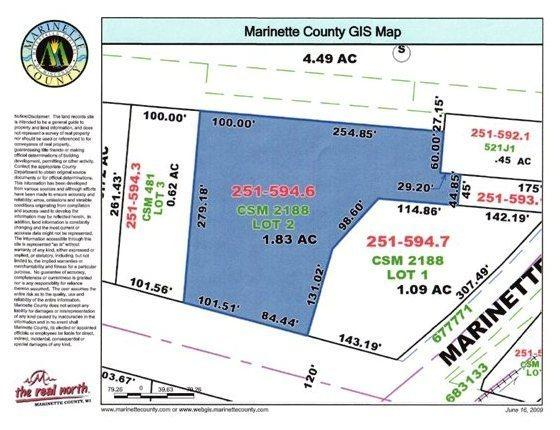 3100 Cleveland Ave, Marinette, Wisconsin 54143, ,Vacant Land,For Sale,Cleveland Ave,1722870