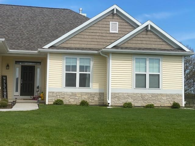 front of kupar in summer