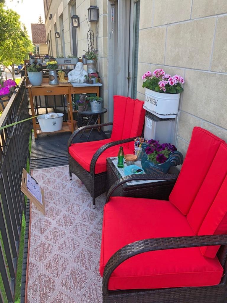 Balcony in summer!