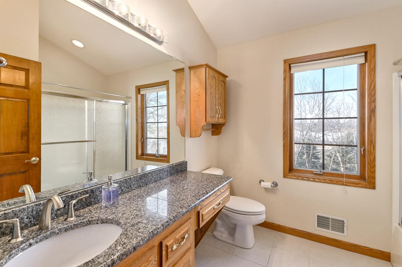 Upper Hall Bath with Granite