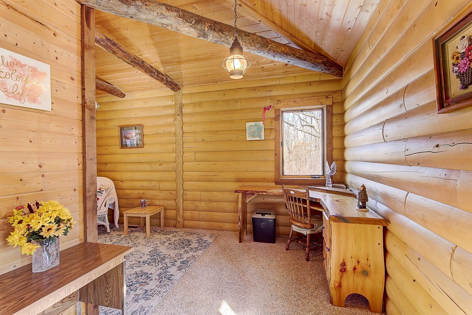Main Floor Open Study/Den/Office