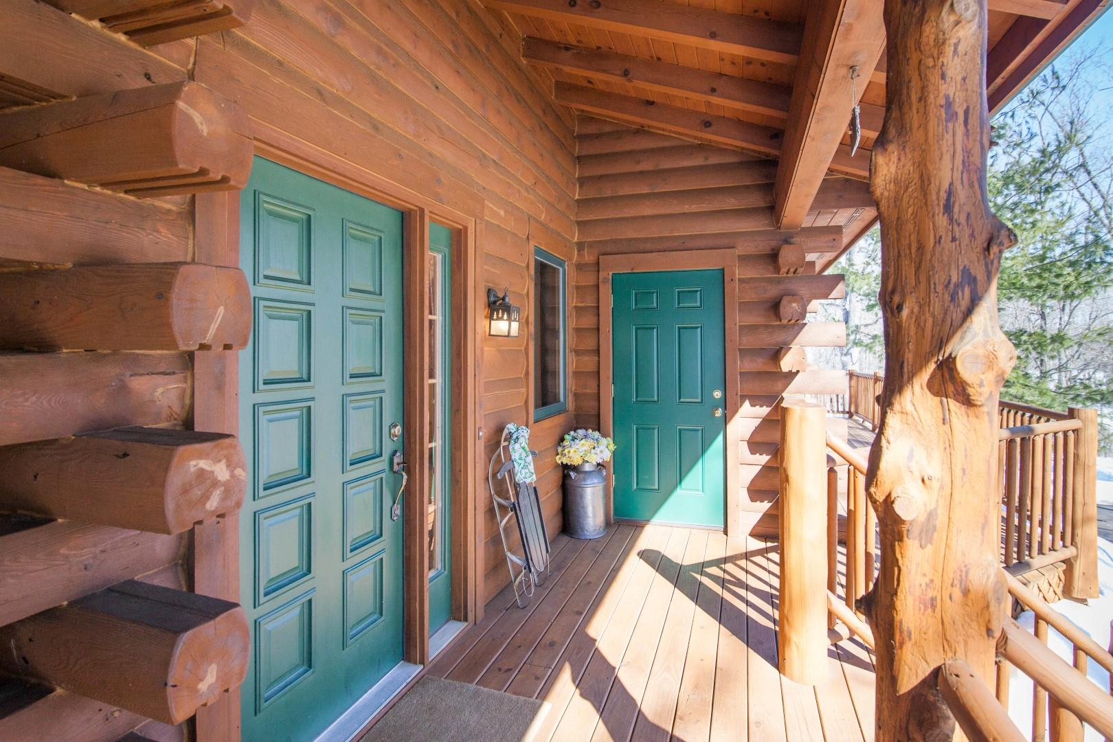 Front Entry to Foyer or cold storage rm