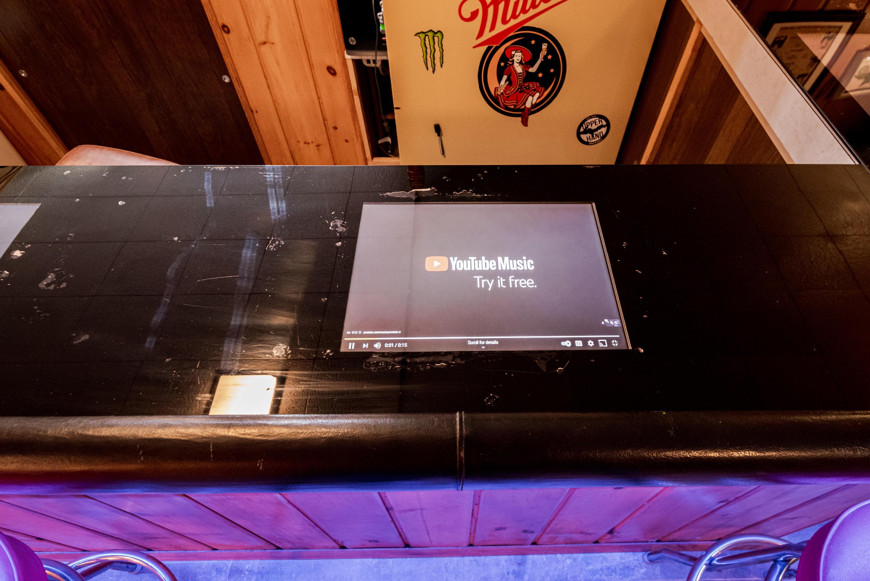Integrated Bar TV