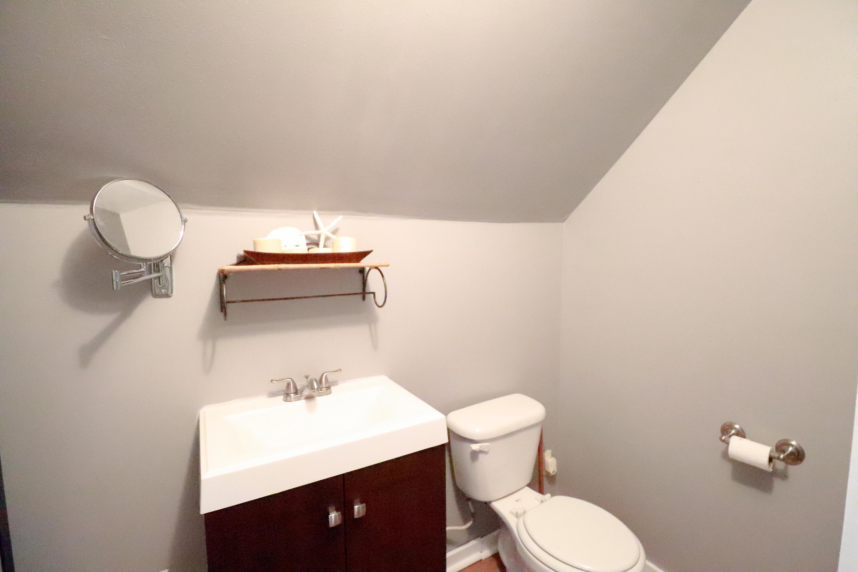 Upper half bath off bedroom