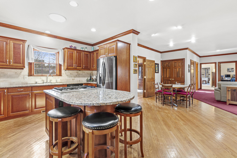 Open to Dinette & Family Room