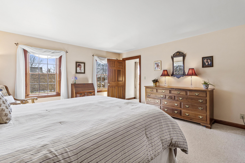 3 Windows in Master bedroom