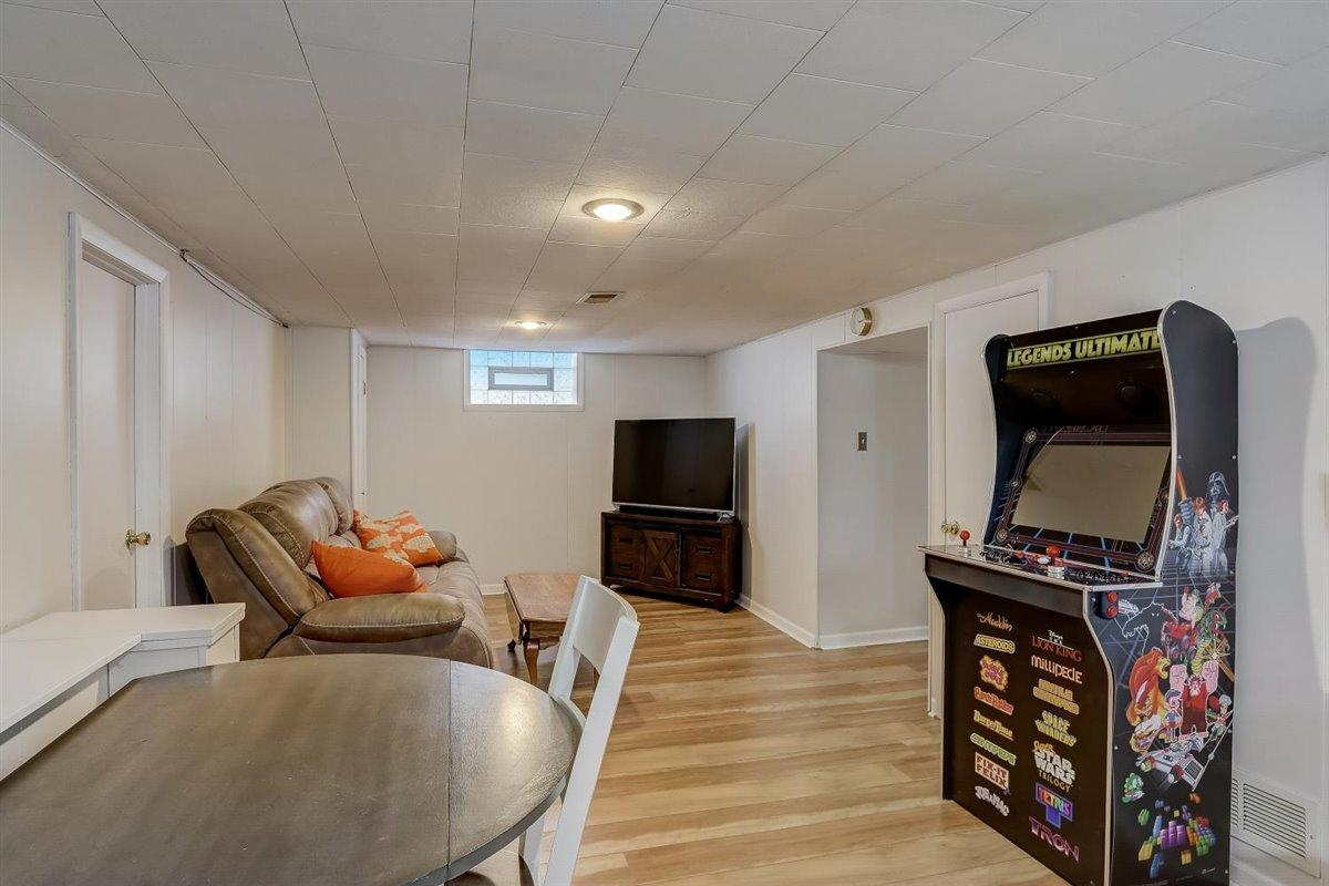 Rec Room on Lower Level
