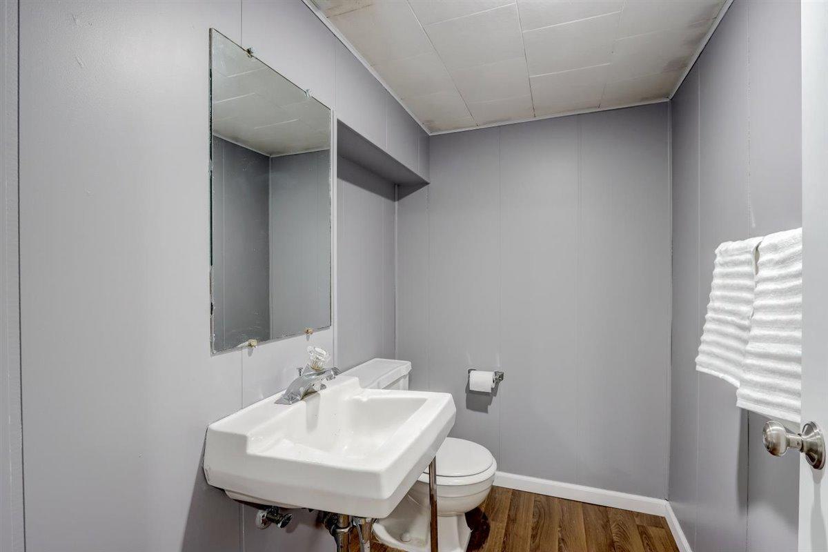 Half Bathroom Lower Level