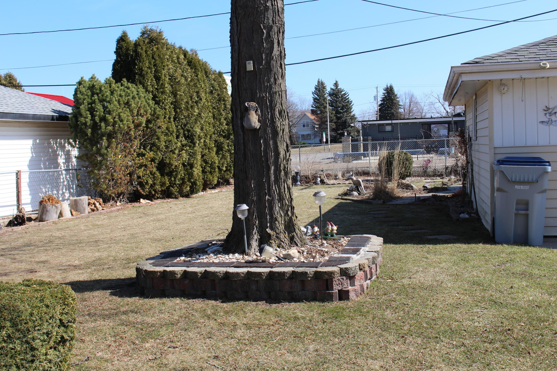 Fenced Backyard