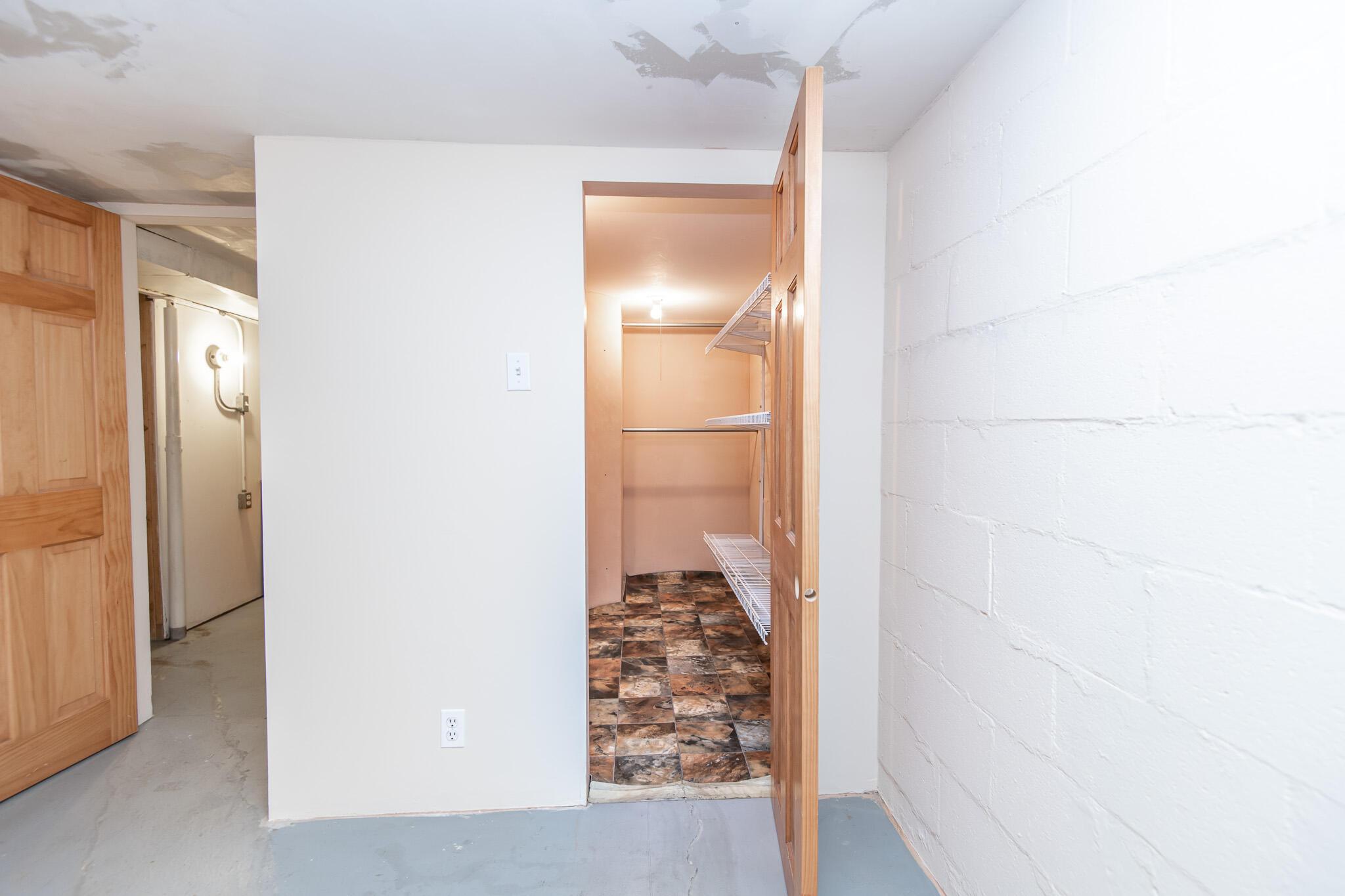 Bonus Room Storage