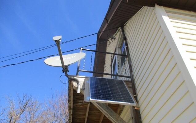 Solar Panel for Sump Pump Backup