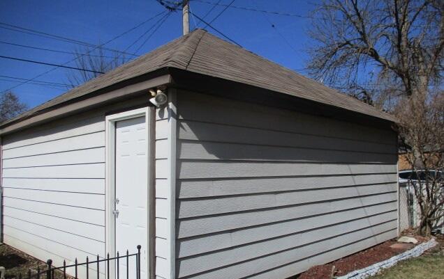 Garage Entry Service Door
