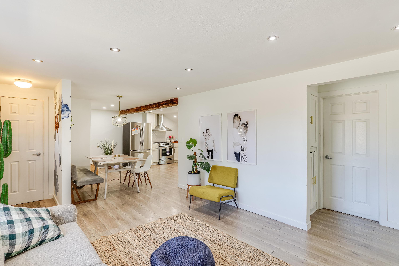 Living Room to Dinette
