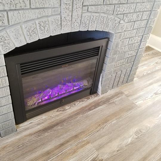 Fireplace Changing Colors #2