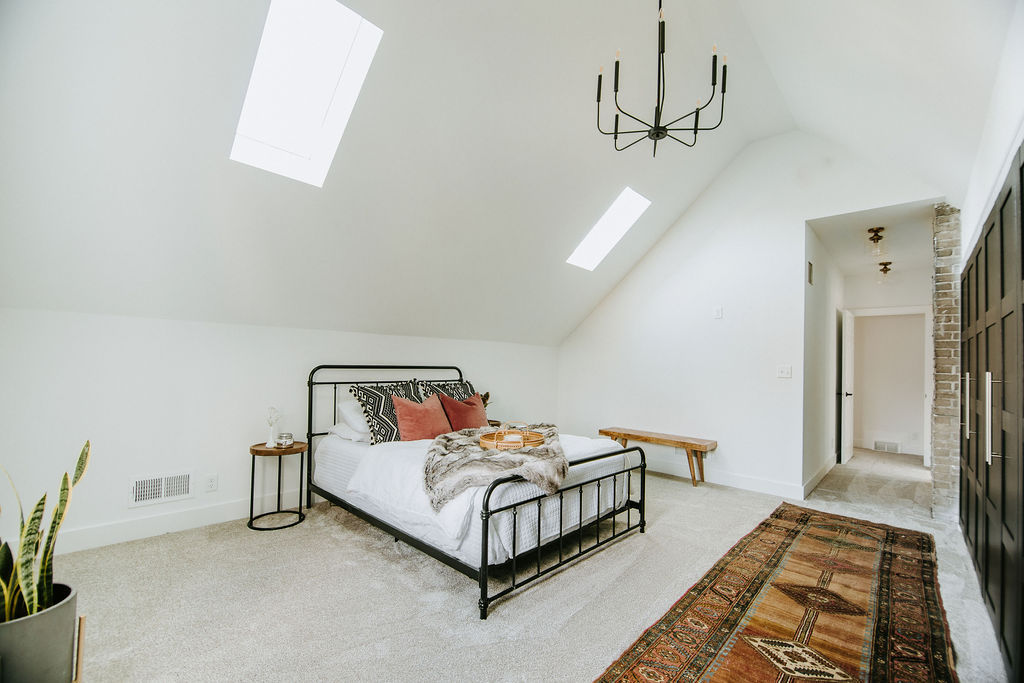 Master Bed Skylights