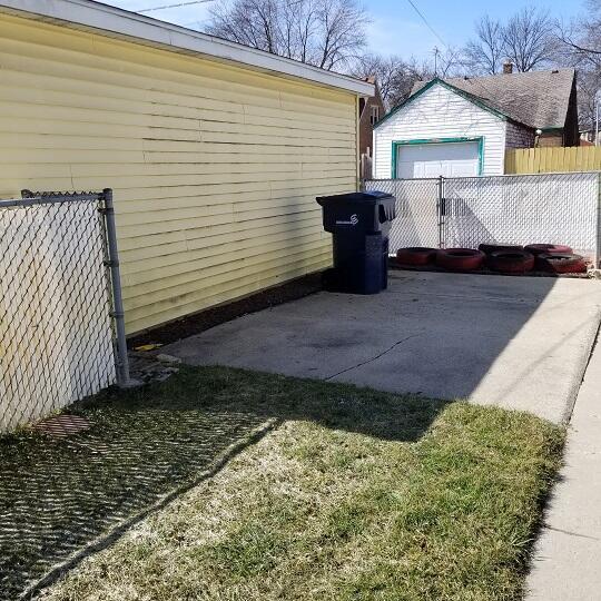 Rear Yard Patio Space or Slab
