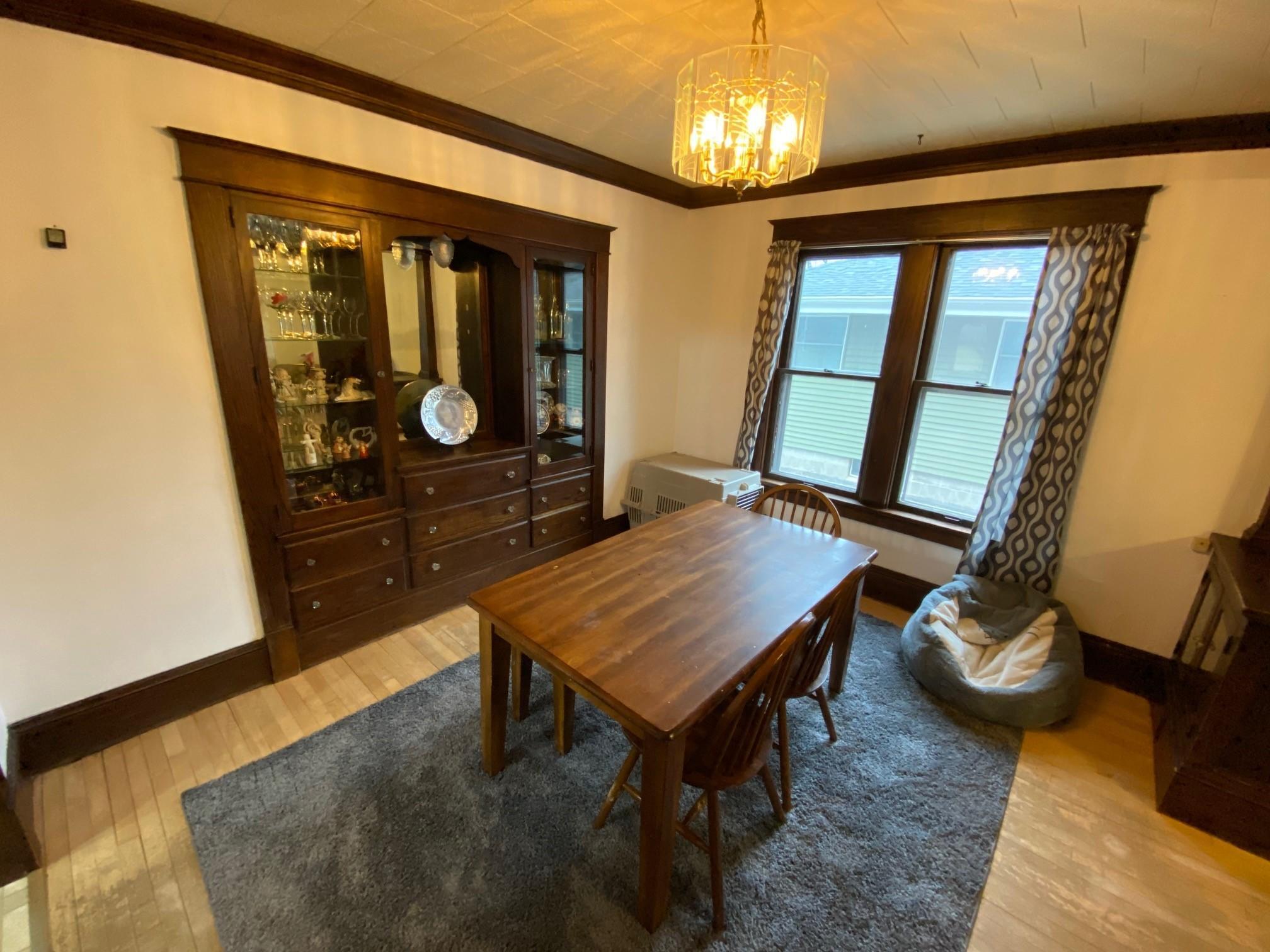 Built-In Buffet Dining Room