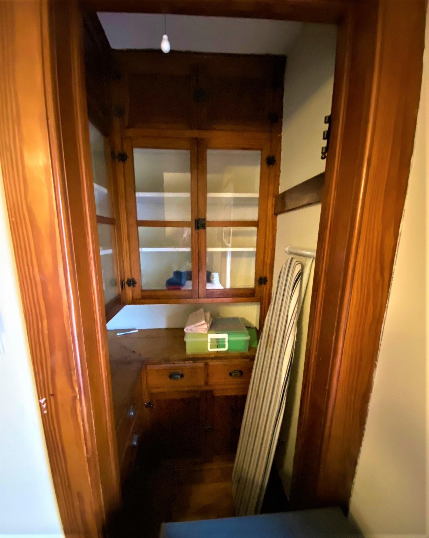Built-Ins in Upper Closet