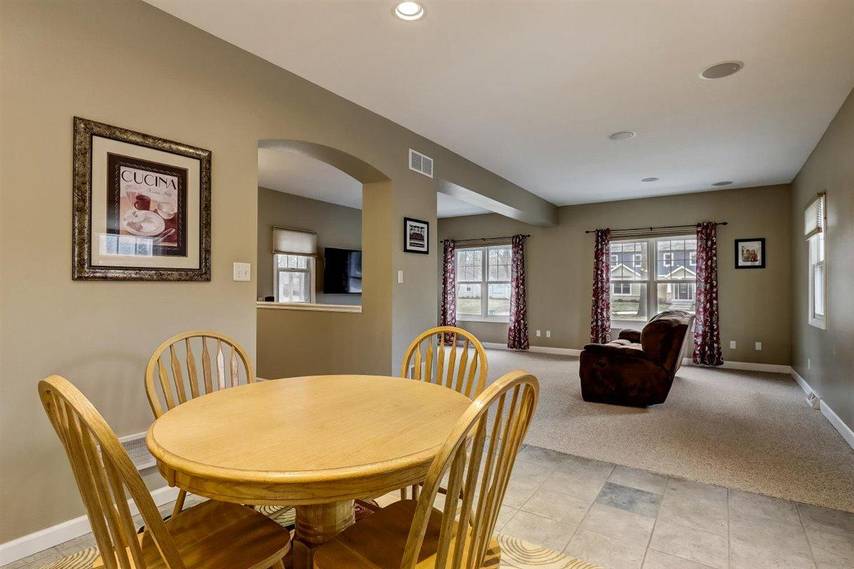 Dining Area into Great Room