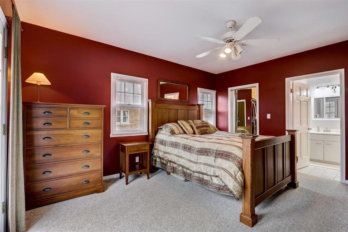 Main Level Master Bedroom into Master BA