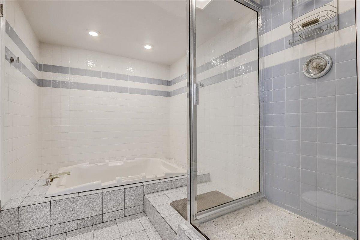 Huge Bath and Shower