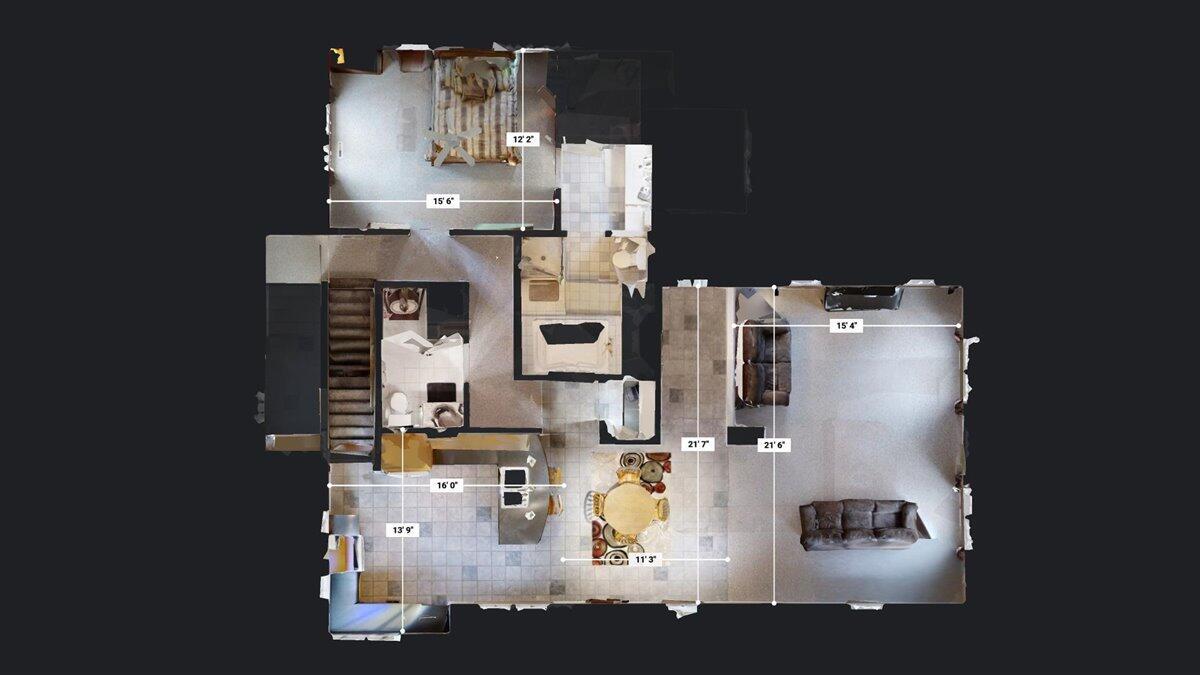 Main Level Floor Plan