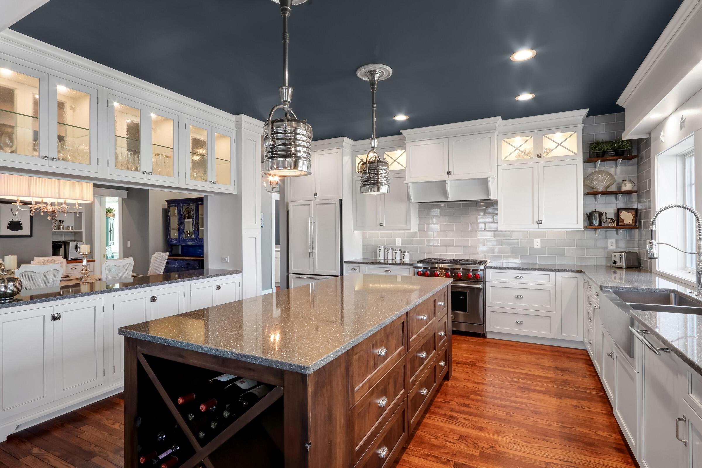 Kitchen with Cambria Quartz Counters