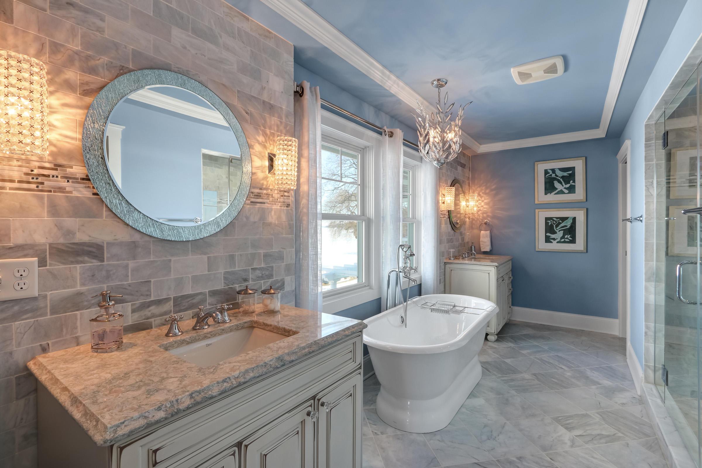 Main Bath with Dual Vanities