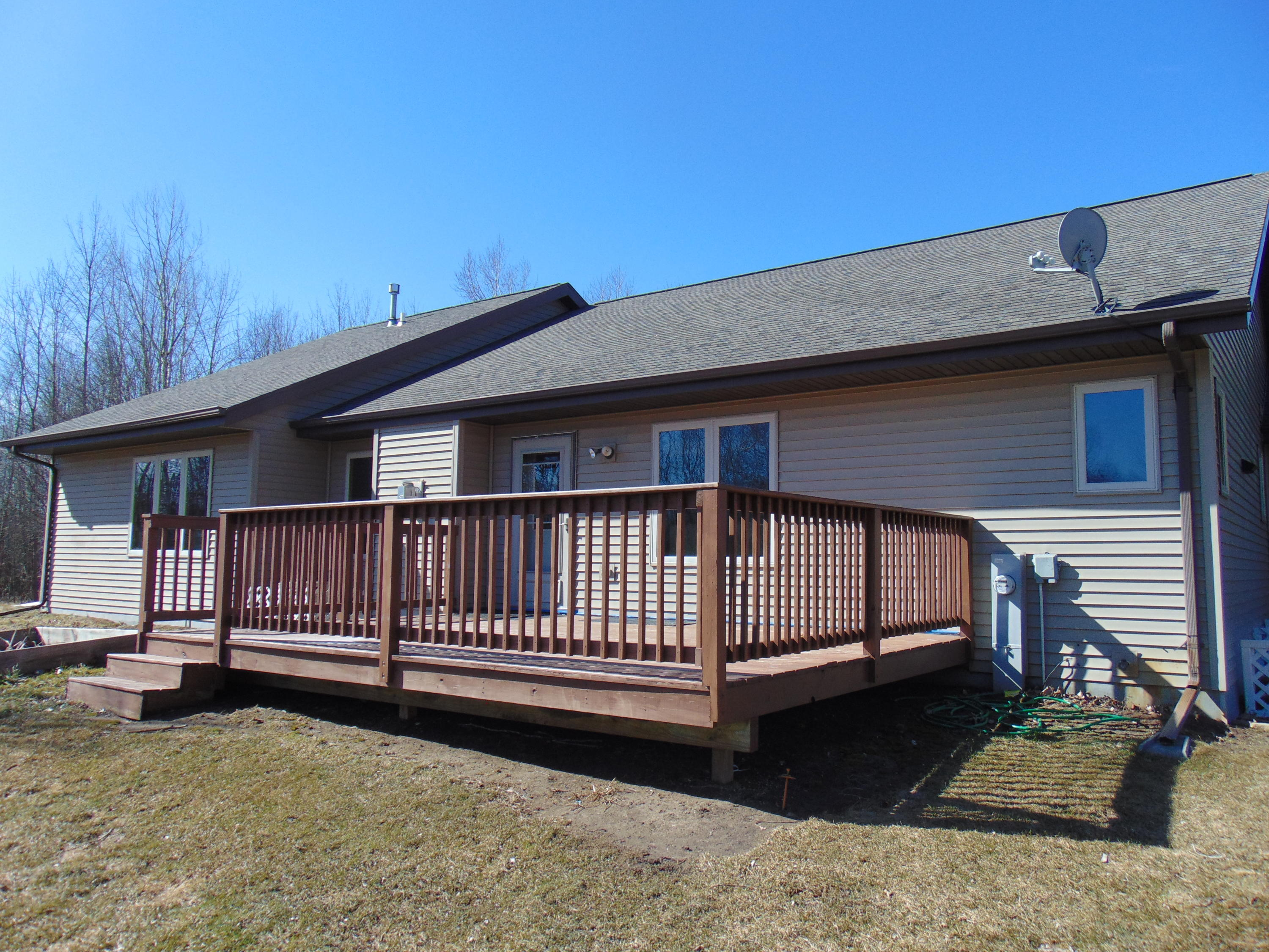 Rear of Home and Deck
