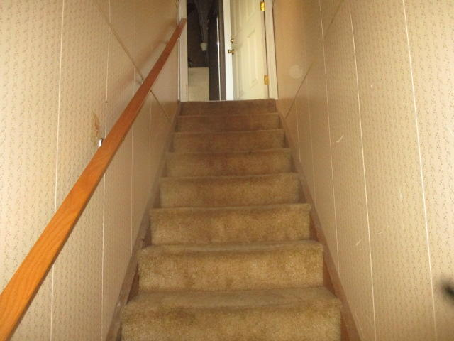 Stairs to unit 2