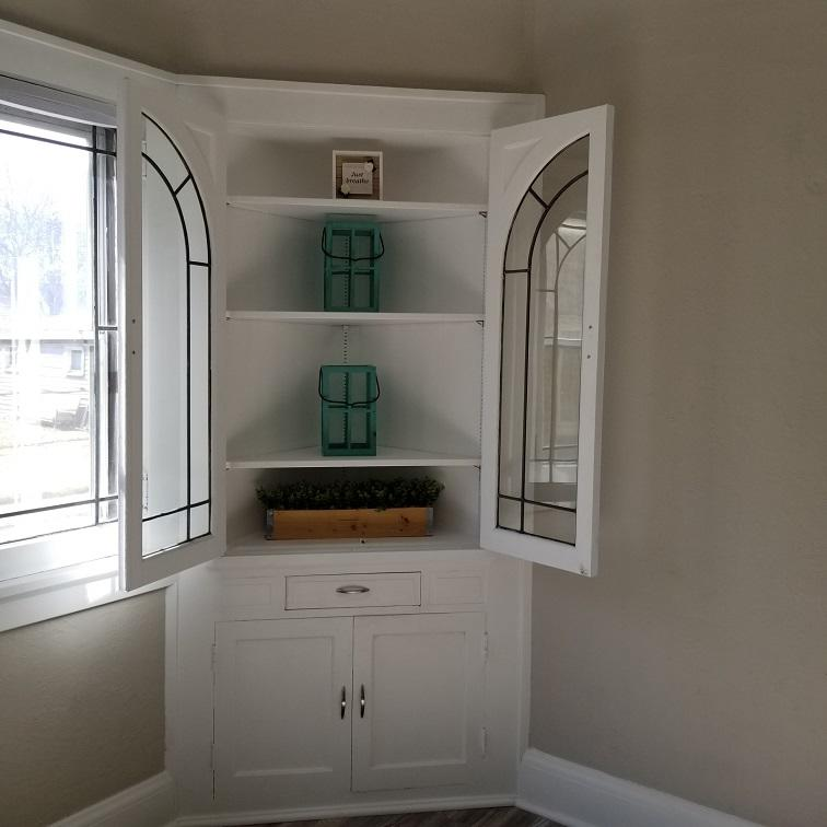 1st Floor Built-In Cabinets
