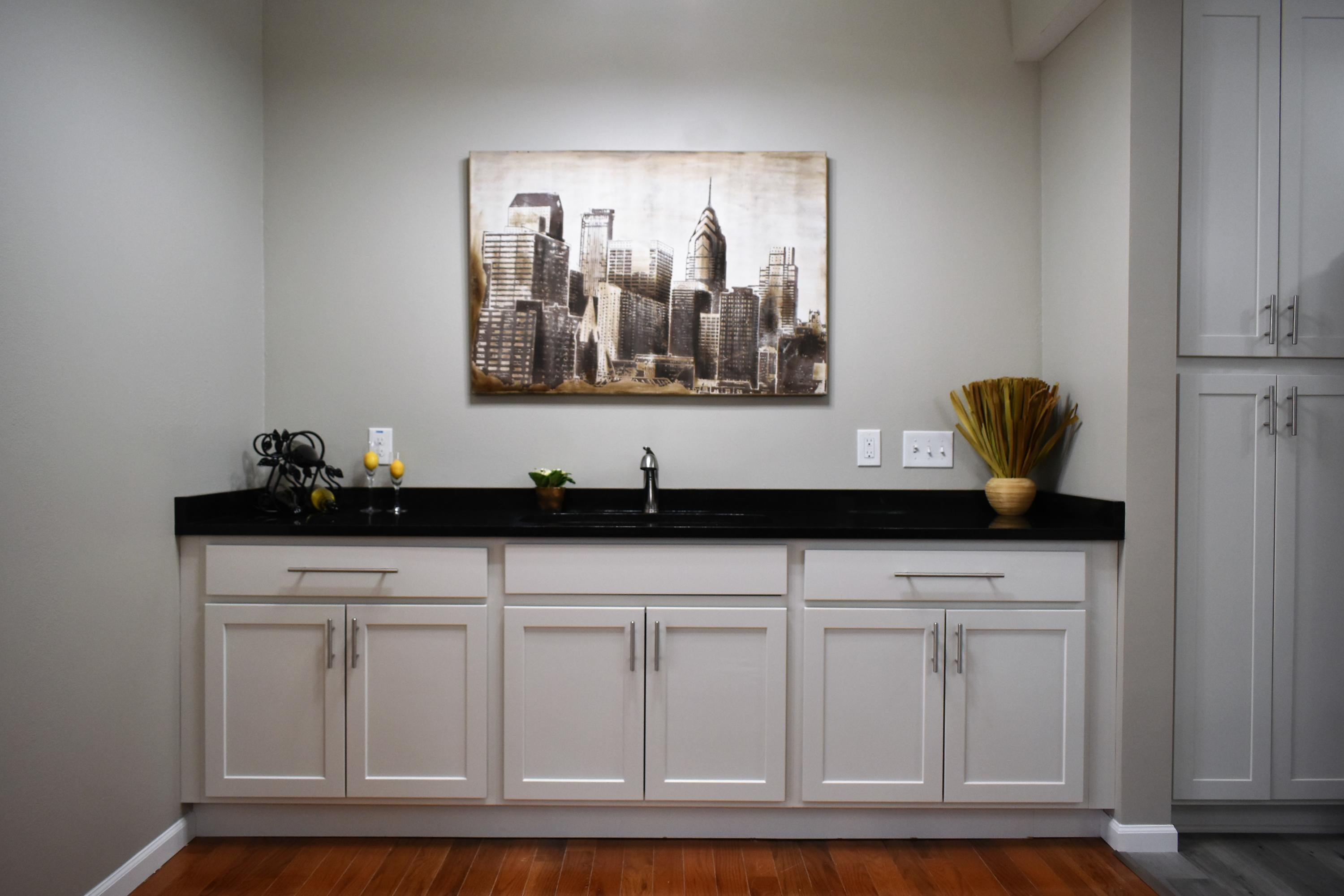 Dining Room Wet Bar Alcove
