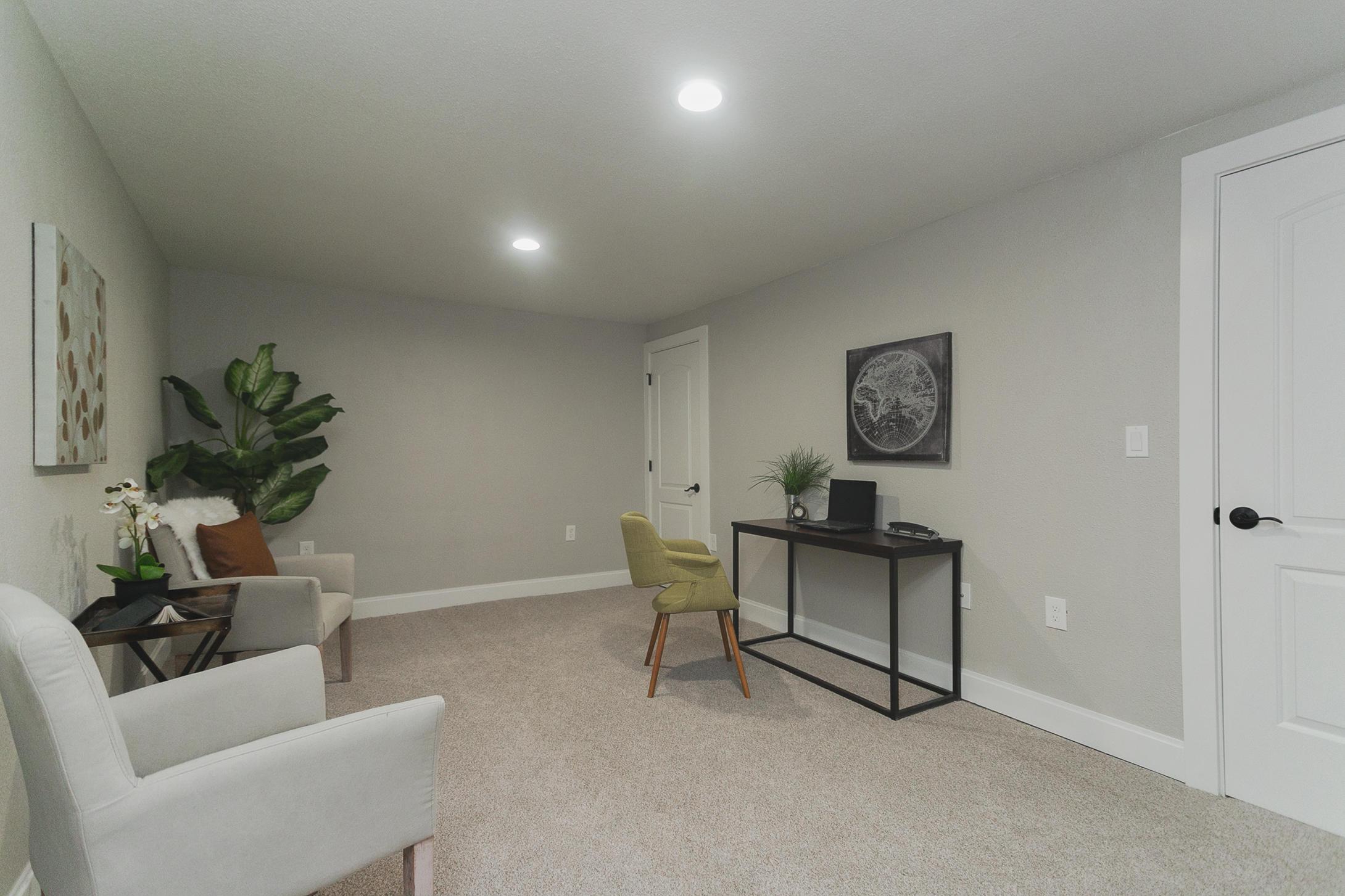 Bonus room/office - lower level