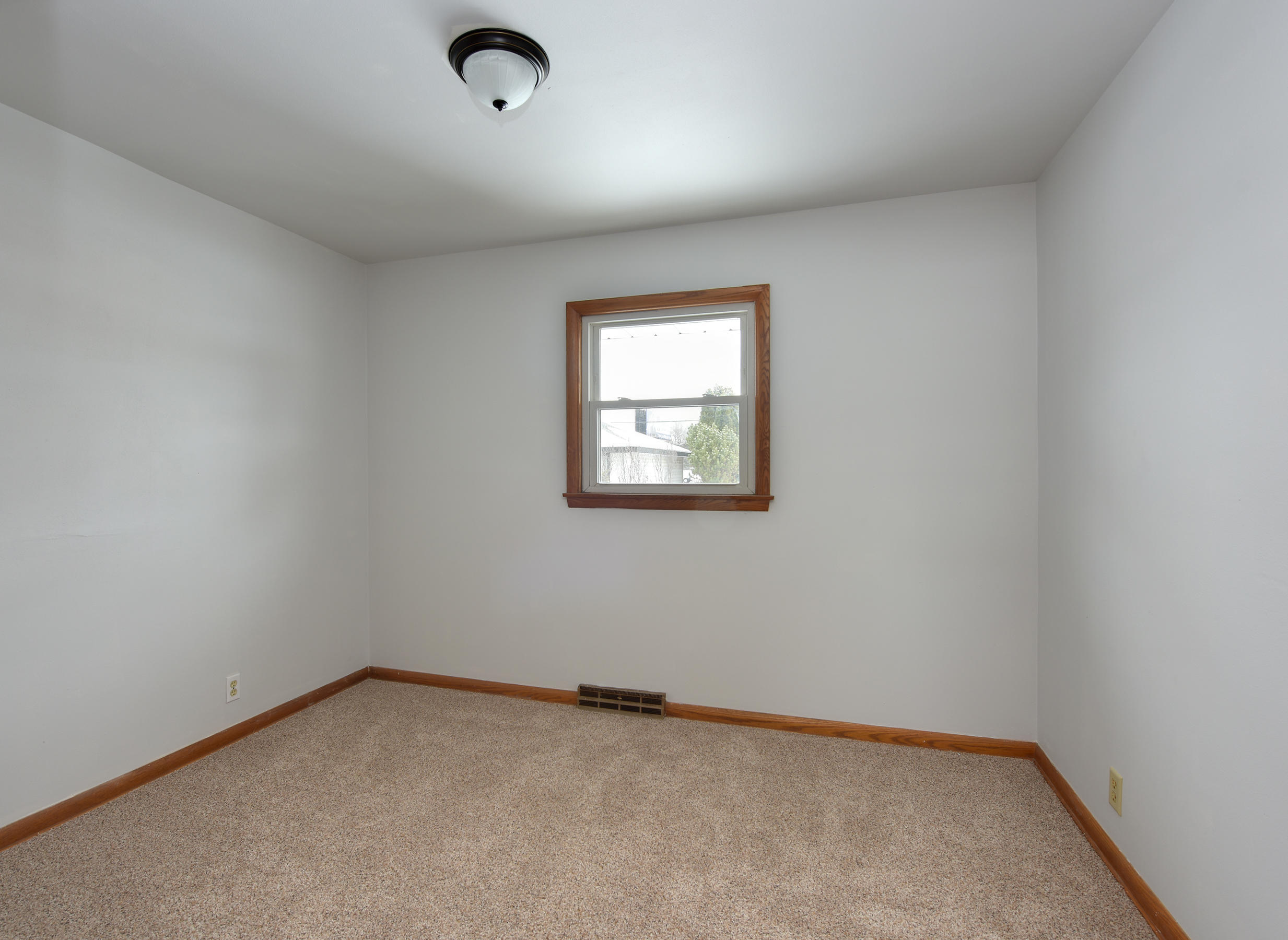 Bedroom 2 with Double Closets