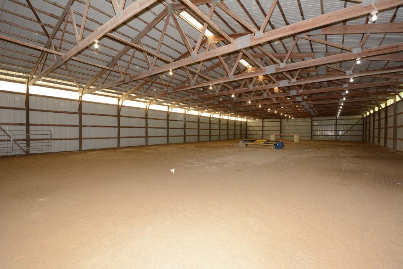 118 x 60 Indoor Riding Arena