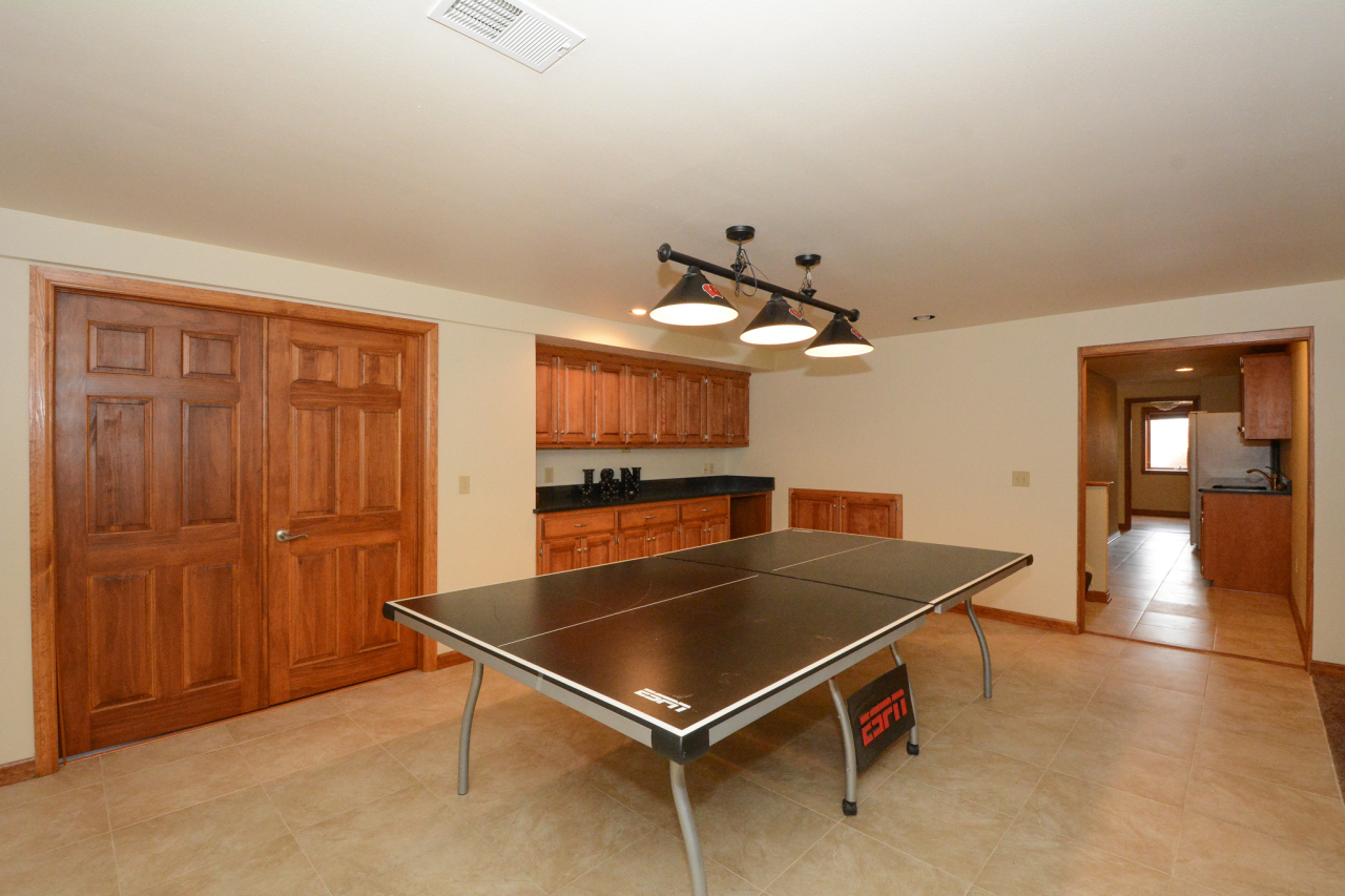 Big Lower Level Game Room