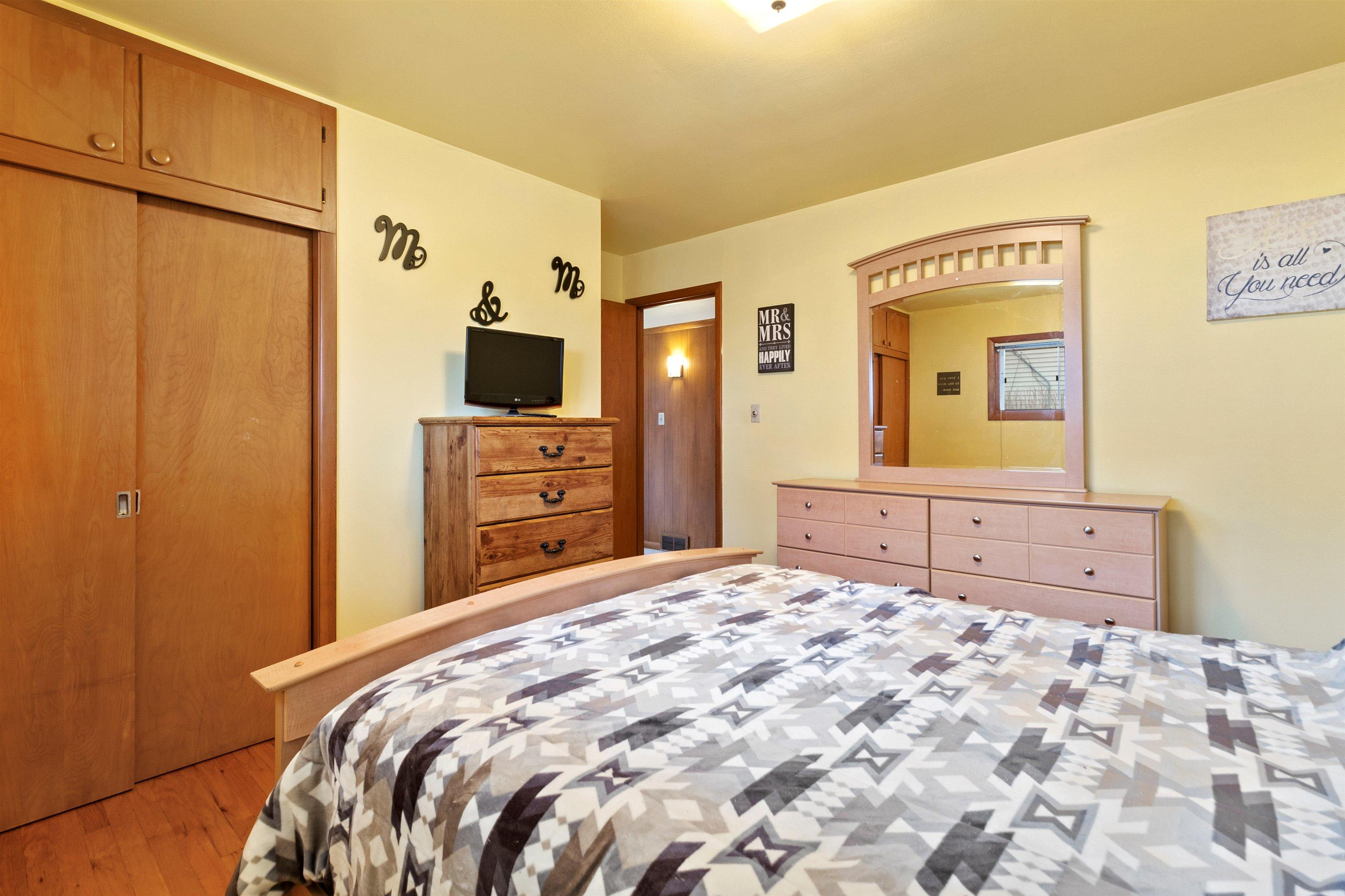 Primary bedroom with large closet