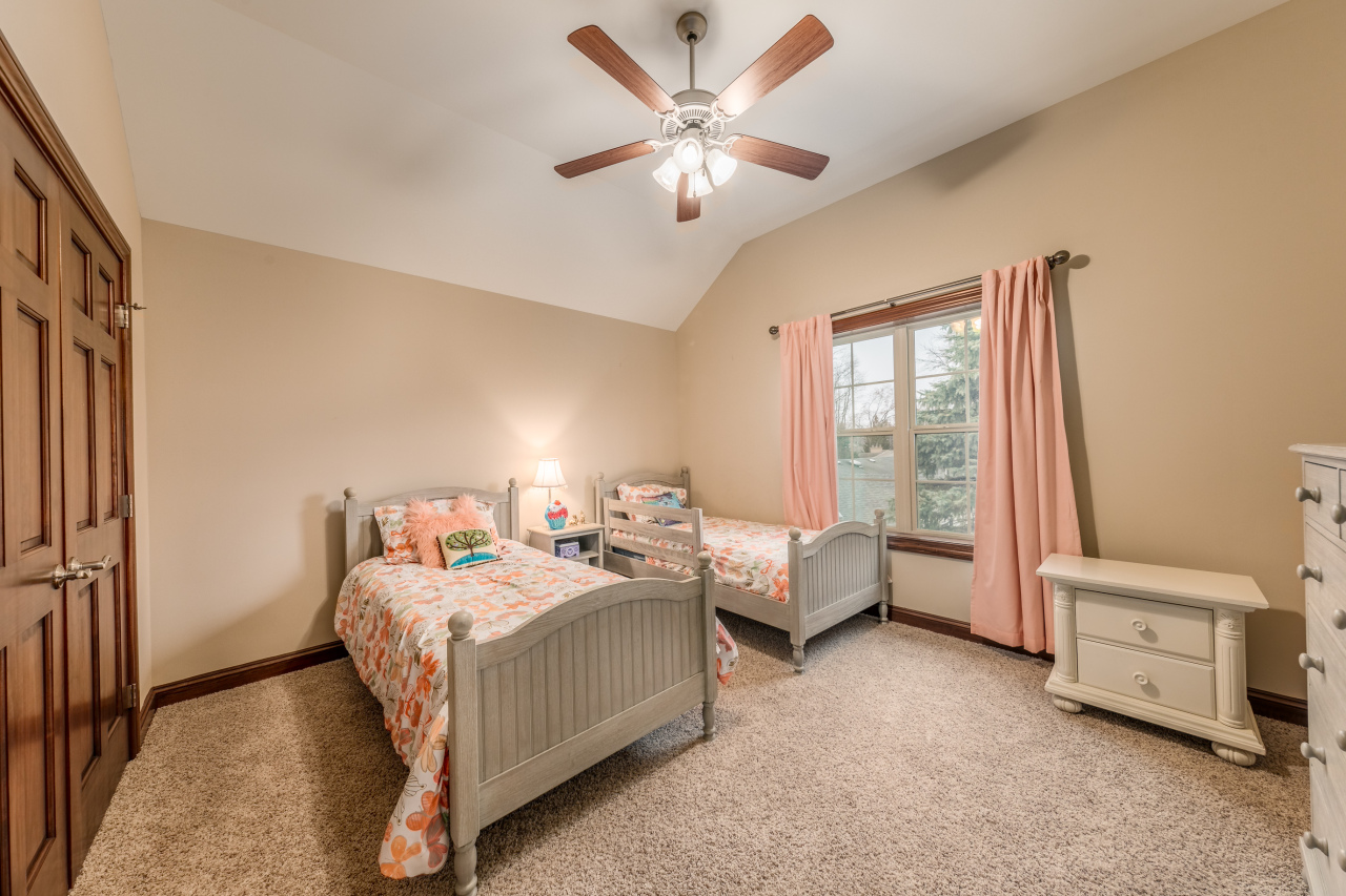 Spacious Bedrooms Upstairs!