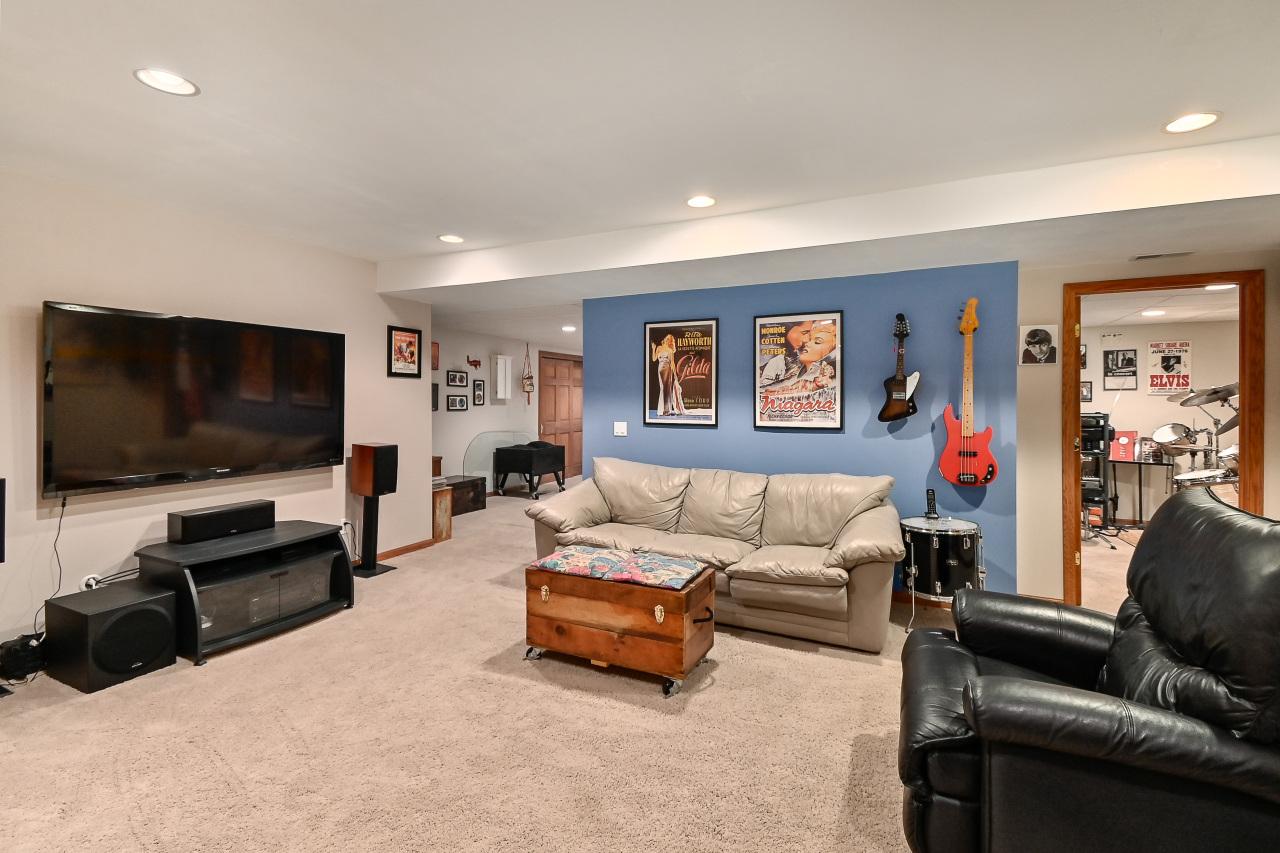 Big Rec Room Includes Big TV