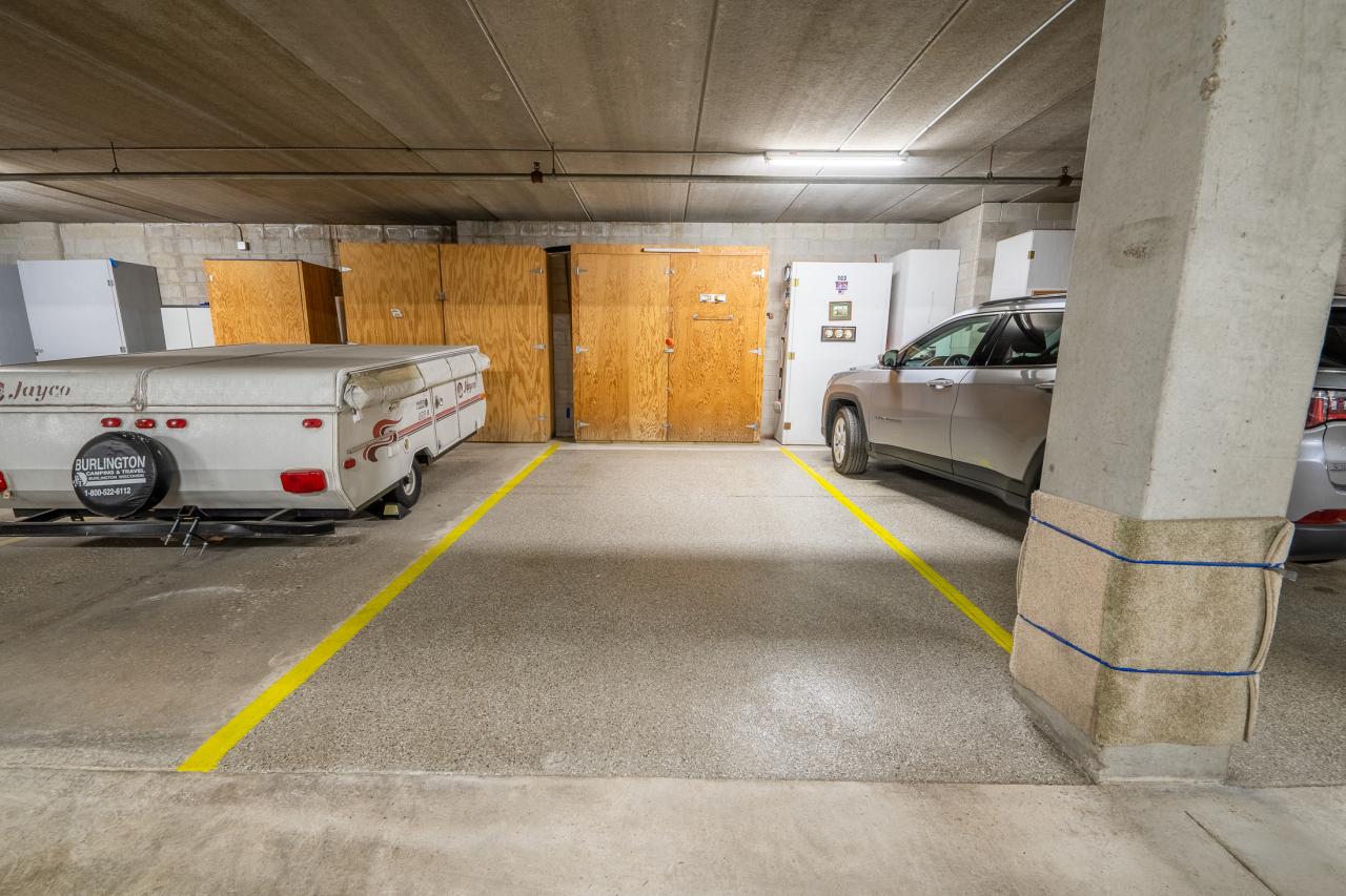 Underground Heated Parking