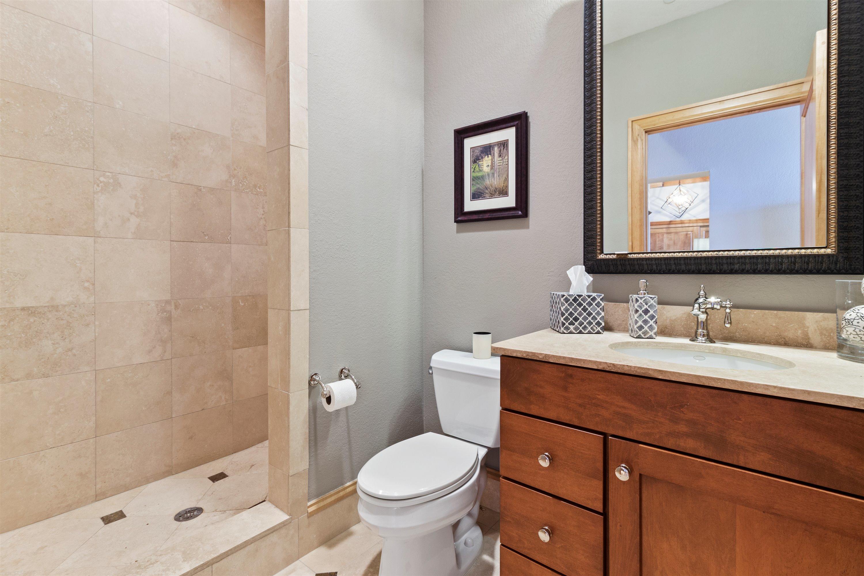 3rd Bath with Walk-in Shower