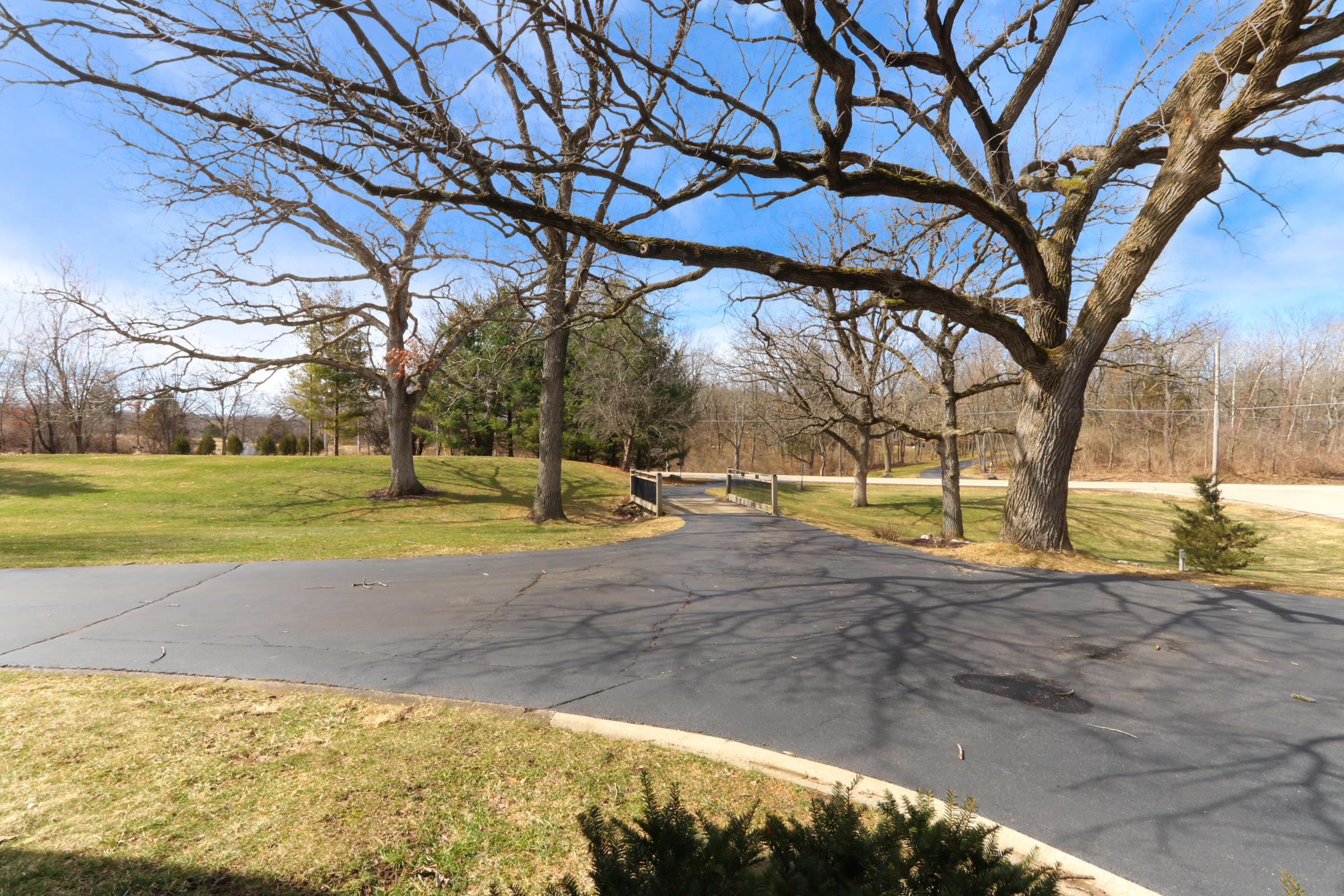 View of front yard