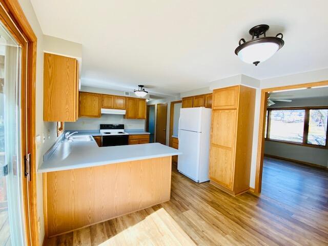 2 - Kitchen - Living Rm.