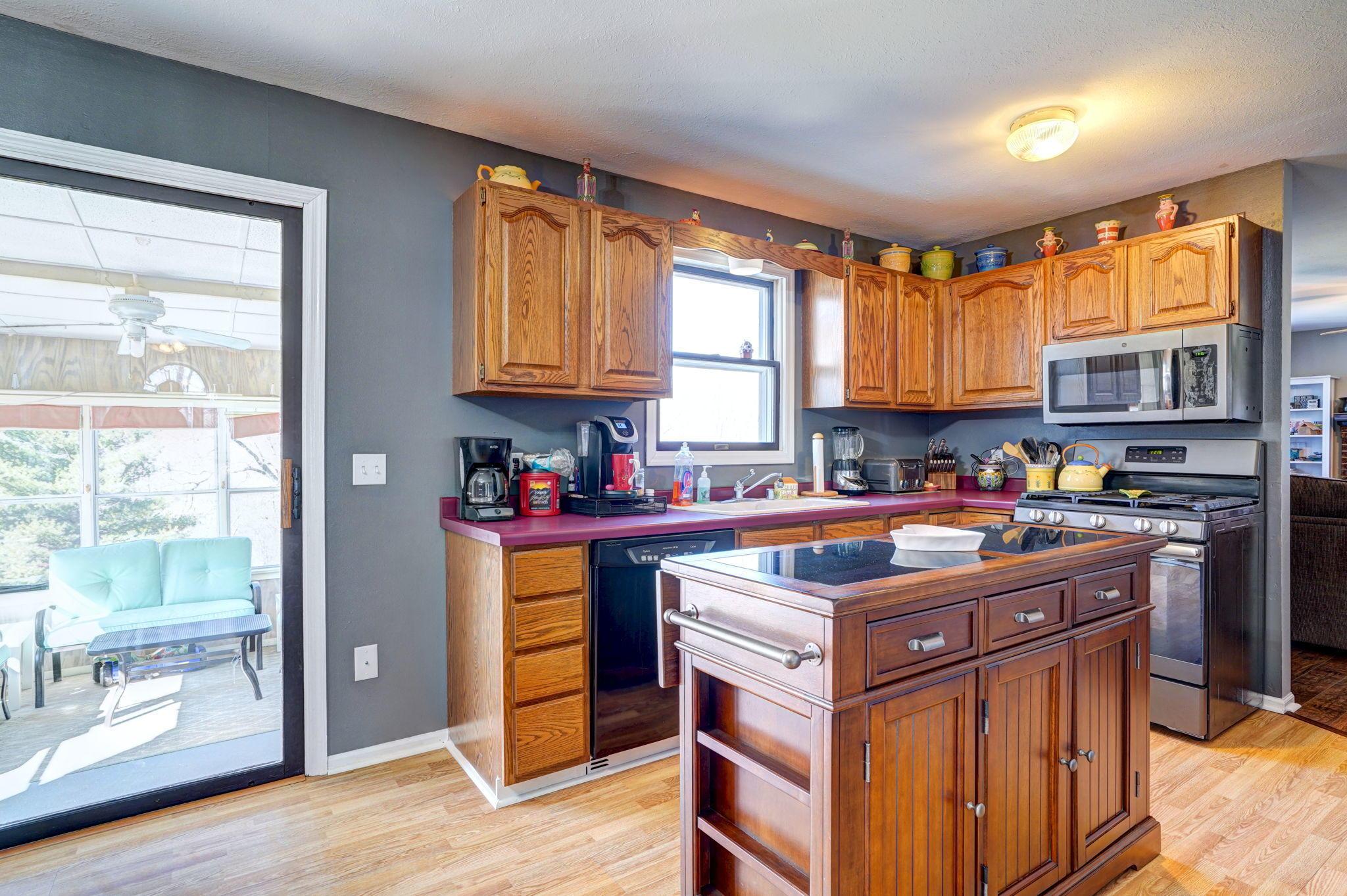 Kitchen to Sunroom