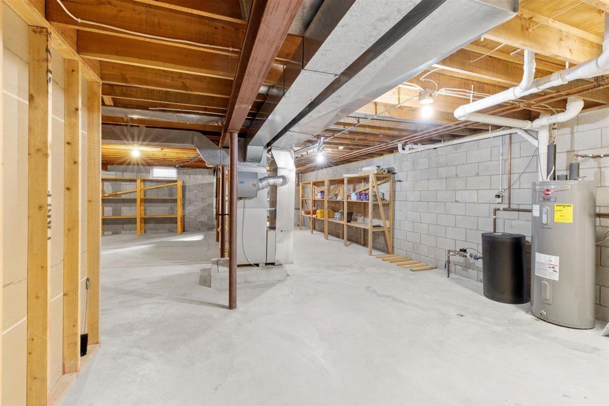 Full basement -