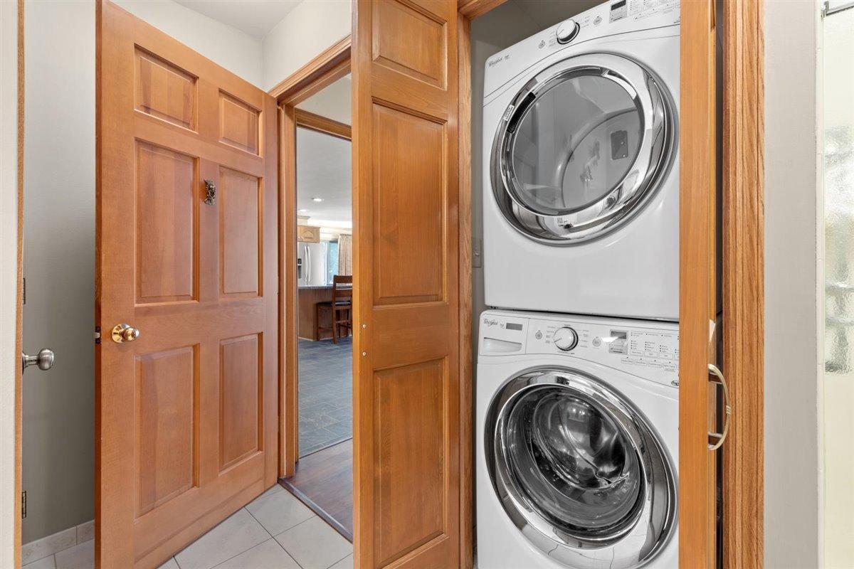 Laundry in Master bath main floor