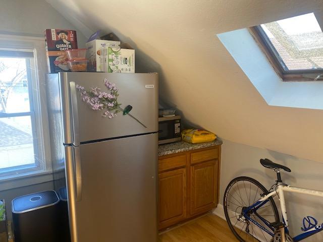 Upper unit kitchen