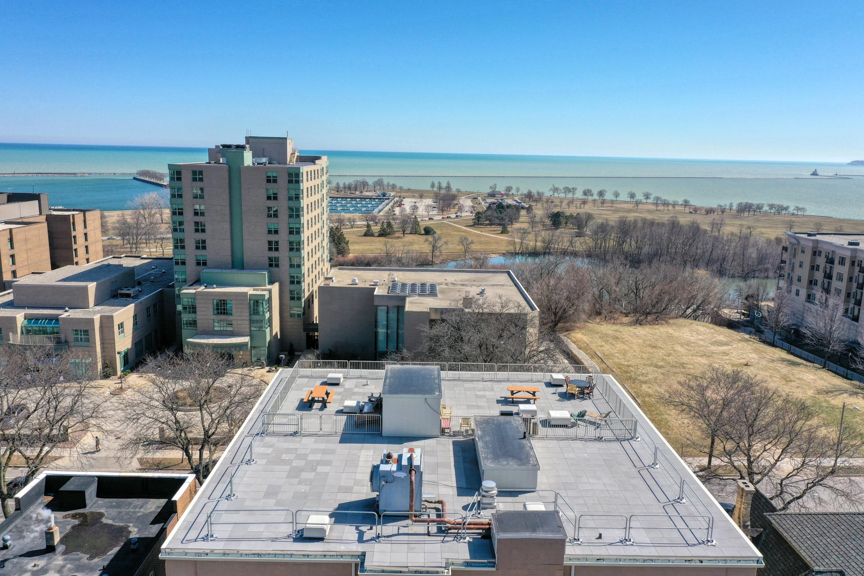 Rooftop Overlooking Lake Michigan