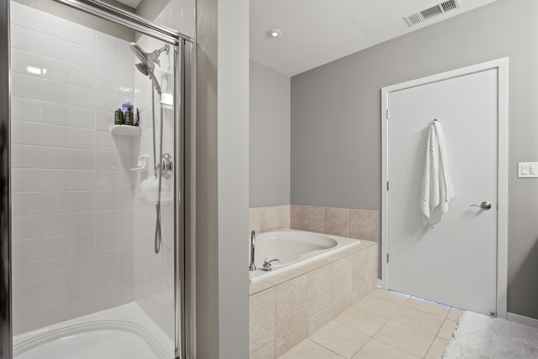 Master Bath Tub & Walk-in Shower